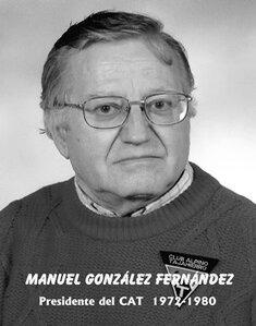 D. MANUEL GOZÁLEZ FERNANDEZ